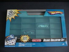 NEW Hot Wheels Deluxe Collector Set Display Storage Case Carry Exclusive Car NIB