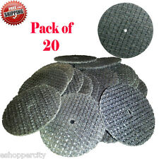 "20X Reinforced Cut Off Wheels Disc Dremel 426 Rotary 1-1/4"" x 0.045"" Fiberglass"