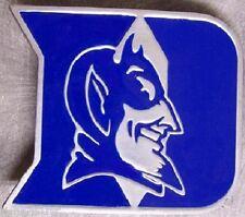 NCAA Pewter Belt Buckle Duke University Blue Devils NEW