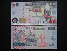 ZAMBIA  2 Kwacha 2012 (2013)  (P49)  UNC