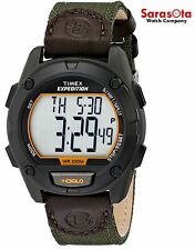 Timex Expedition T49947 Chronograph Green Strap Digital Sport Men's Watch
