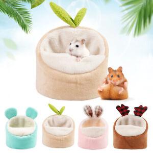 Pet Warm Guinea Pig Bed Soft House Small Animal Hamster Rat Pad Nest Sleep Mat