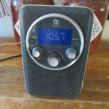 Boston Acoustics Horizon Solo Hi-Fi Clock Alarm Fm/Am Aux Radio