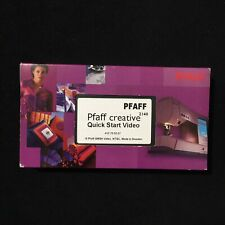 Pfaff Creative 2140 Sewing Machine Quick Start VHS Video