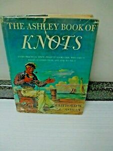 The Ashley Book of Knots By Clifford Ashley/7000 Drawings/Over 3900 Knots! F/S!