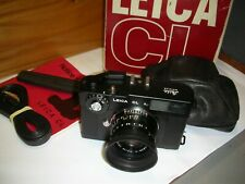 Leitz LEICA CL - SUMMICRON -  40mm 2 Comme neuf!