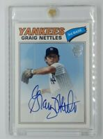 2013 Topps Archives Fan Favorites Autograph Issue Graig Nettles #FFA-GN, Auto