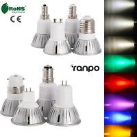 LED Spotlight 3W E26 E27 E14 E12 GU10 MR16 Bulb Light Lamp 85-265V Energy Saving