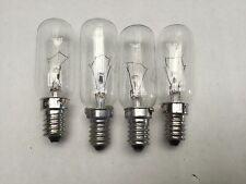 4x Westinghouse Fridge Lamp Light Bulb Globe WSE6100SA WSE6100SA*03 WSE6100SA*06