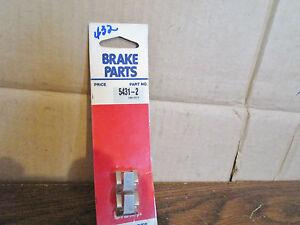 70-75 AMC Chevy Dodge Ford Mercury Disc Brake Anti Rattle Clip USA Brake 5431-2