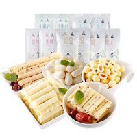Snacks Food Inner Mongolia Specialty Cheese Milk Beans 科尔沁内蒙酸奶条奶豆奶棒奶泡组合1kg Ske15