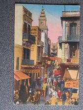 TANGER RUE DES SIAGHINES POSTAL AÑO 1931