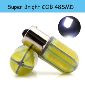 10x P21W 1156 BA15S 1141 1073 1095 48SMD COB LED Silica Turn Tail Light 12V 24V