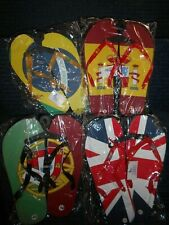 tongs motifs pays brasil portugal espagne angleterre vendu au carton ou le lot