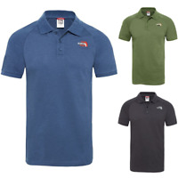 THE NORTH FACE TNF Raglan Jersey T-Shirt Manches Courtes Polo pour Hommes