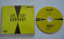 ⭐⭐⭐ LIFE ISN`T EASY IN GERMANY  ⭐⭐⭐ AND ONE ⭐⭐⭐ 5 Track MCD ⭐⭐⭐ 1993 Machinery ⭐
