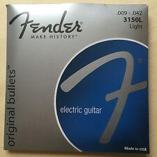 Fender Original Bullets 3150L 9-42 electric guitar strings, 1 set, 6 strings