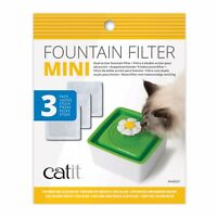 Catit Senses 2.0 Mini Square Flower Water Fountain Replacement Filters 44005