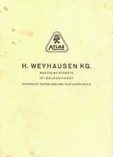 Bedienungsanleitung Heckbagger/Bauernlader Atlas AL 320