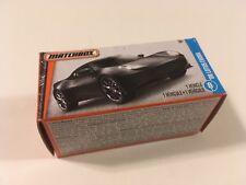 Matchbox Lotus Evora Sports Car Matte Black Scale 1:64 Diecast Model Car in Box