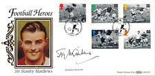 1996 Benham FDC Football Legends signed by Sir Stanley Mathews