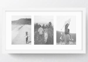 Oxford White Multi Aperture Modern Photo Frame Instagram Picture Collage UK