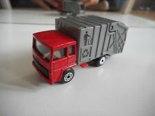 Matchbox Refuse Truck in Red/Grey