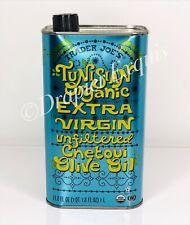 Trader Joe's Tunisian Organic Extra Virgin  Unfiltered Chetoui Olive Oil NEW