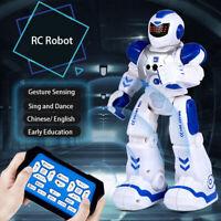 RC Remote Control Robot Smart Action Singing Dance Walking Sensor Kids Gifts US*