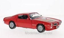 Pontiac Firebird Trans Am 1973-Rosso/decoro - 1:24 Motormax