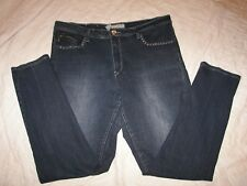 Que-Hermosa Low Rise Stretch Jeans - Size 16