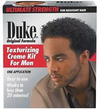 Duke Original Formula Ultimate Strength for resistant Hair Texturizing Creme Kit