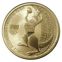 Australia 2012 Olympic Team -  Road To London $1 Dollar UNC Coin Carded