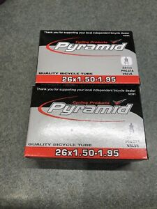 Cycling Prod Pyramid 32mm Presta Valve Thorn Resistant 26 x 1.50-1.95 Inner Tube