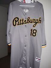 Pittsburgh Pirates #18 Andy Van Slyke Jersey size 4xl