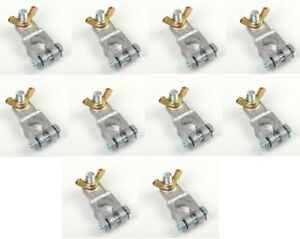 10 PACK Marine Battery Terminal Adapter Conversion Cable End 3/8 Stud Heavy Duty
