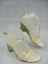 Designer inspired UK Size 4.5 White Sandal Strappy Ankle Strap Buckle EUR 37.5