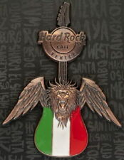 Hard Rock Cafe VENICE 2017 3-D Lion with Wings Guitar PIN on CARD - HRC #98081