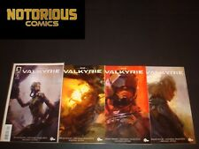 Eve Valkyrie 1-4 Complete Comic Lot Run Set Dark Horse Collection