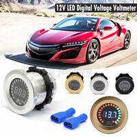 12V LED Panel Car Motorcycle Boat Digital Voltage Socket Meter Gauge  !*