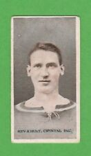 FOOTBALL - WILLS SCISSORS - FAMOUS FOOTBALLER CARD - REV. HUNT OF PALACE -  1914