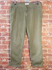 Current Elliott 31 The Buddy Trouser Vintage Army Green Khaki Chinos Pants