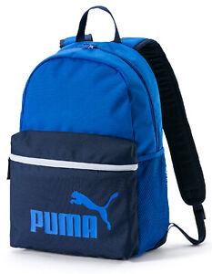Puma Phase Backpack Rucksack Schule Sport Freizeit Neu stronge blue-peacoat75487
