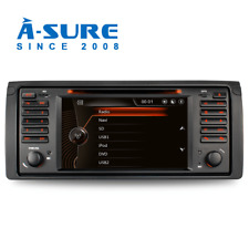 GPS Autoradio Pour BMW E39 E53 X5 E38 5er Bluetooth VMCD DVD RDS SWC Navigation
