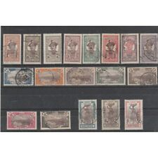 MARTINICA MARTINIQUE 1908-18   VEDUTE   18 VAL  USATI  MF54291