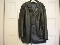 LARGE KENNETH COLE REACTION North African Lamb MEN'S COAT BLAZER JACKET OVERCOAT