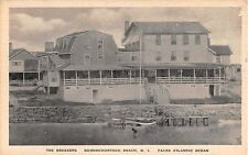 1920's The Breakers Quonochontaug Beach RI post card
