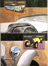 EInfrastructure 2002 Block 195-96 Mercedes Benz Plymouth Fury Vintage Cars Cars MNH