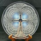 """R. Lalique """"Coquilles"""" 3013 Glass Opalescent Shells Plate"""