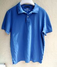 """H&M - Mens Blue POLO T SHIRT - XL - BNWOT - Chest Up To 44"""""""